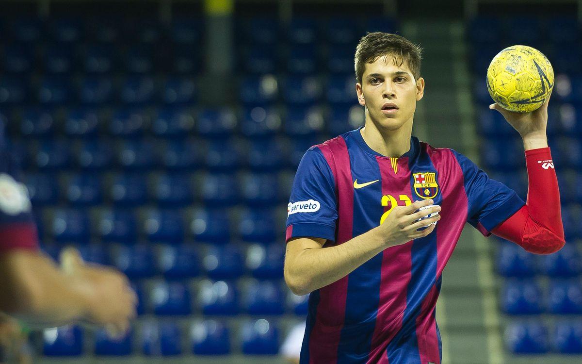 FC Barcelona B d'handbol: El repte de la Copa