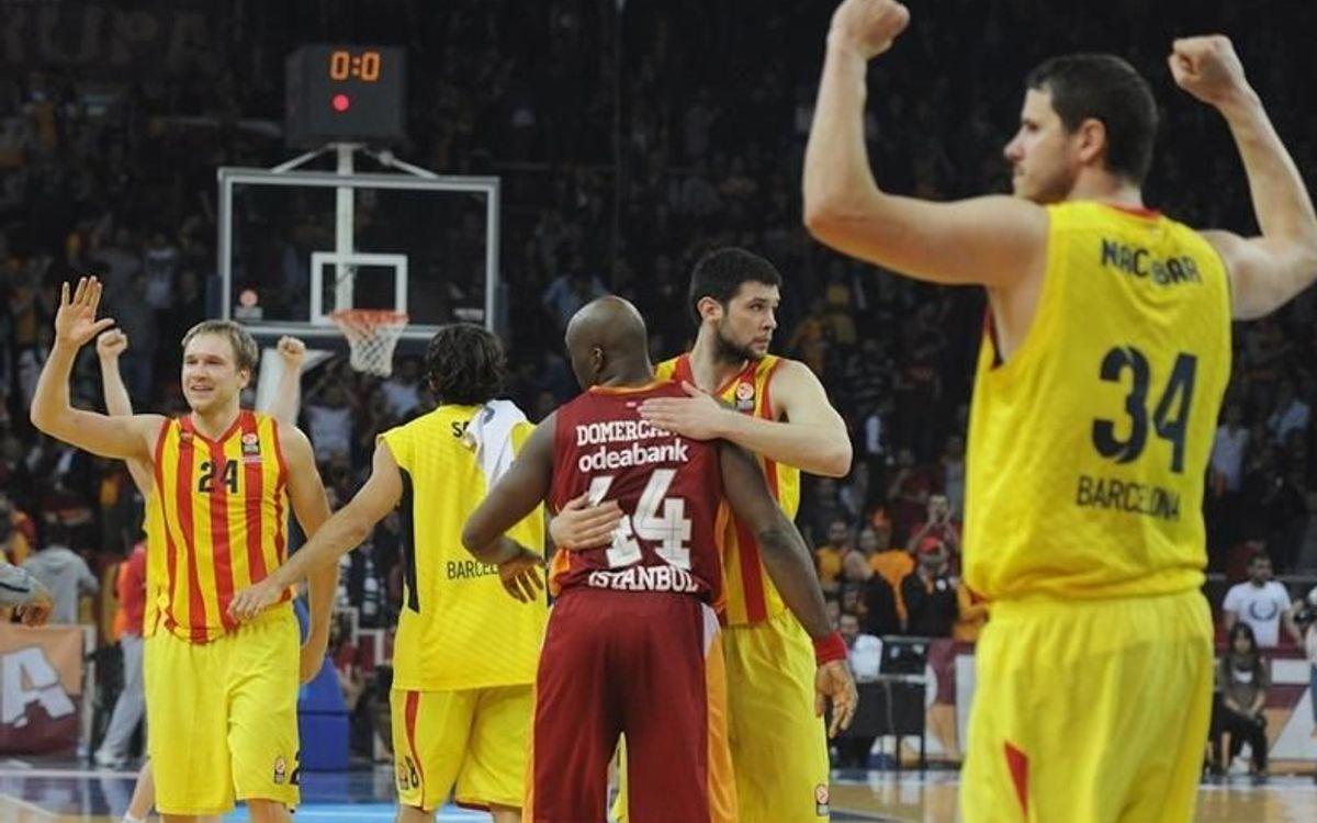El camino del Barça de baloncesto hasta llegar a la Final Four de Milán