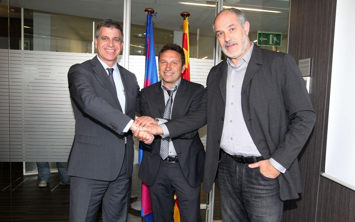 Eusebio firma hasta el 2015: