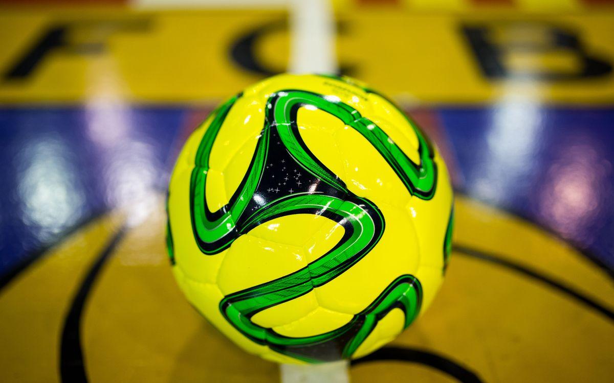 El Barça Alusport ja coneix la pilota de la UEFA Futsal Cup
