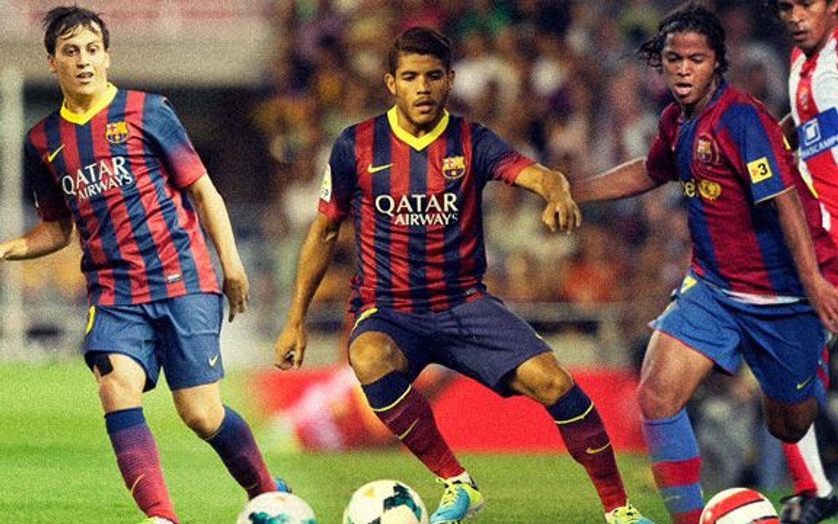 Villarreal's three ex FC Barcelona players