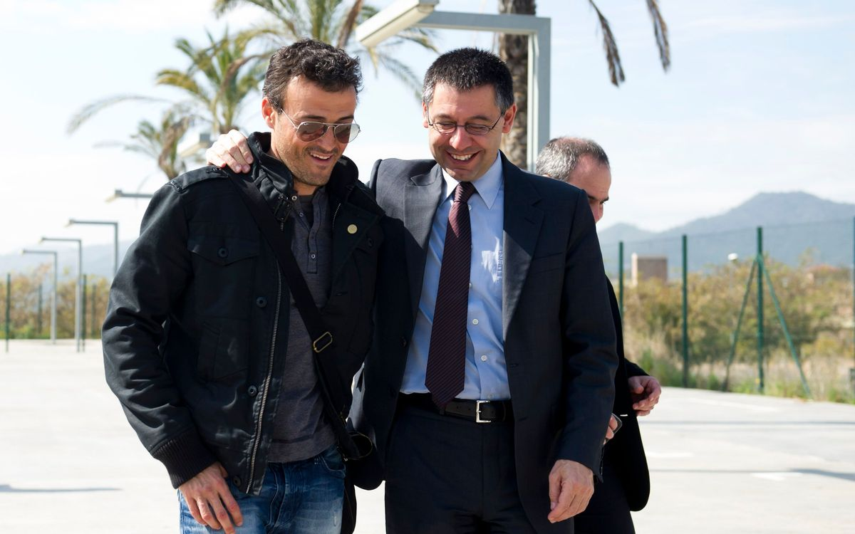 Luis Enrique to be presented on Wednesday