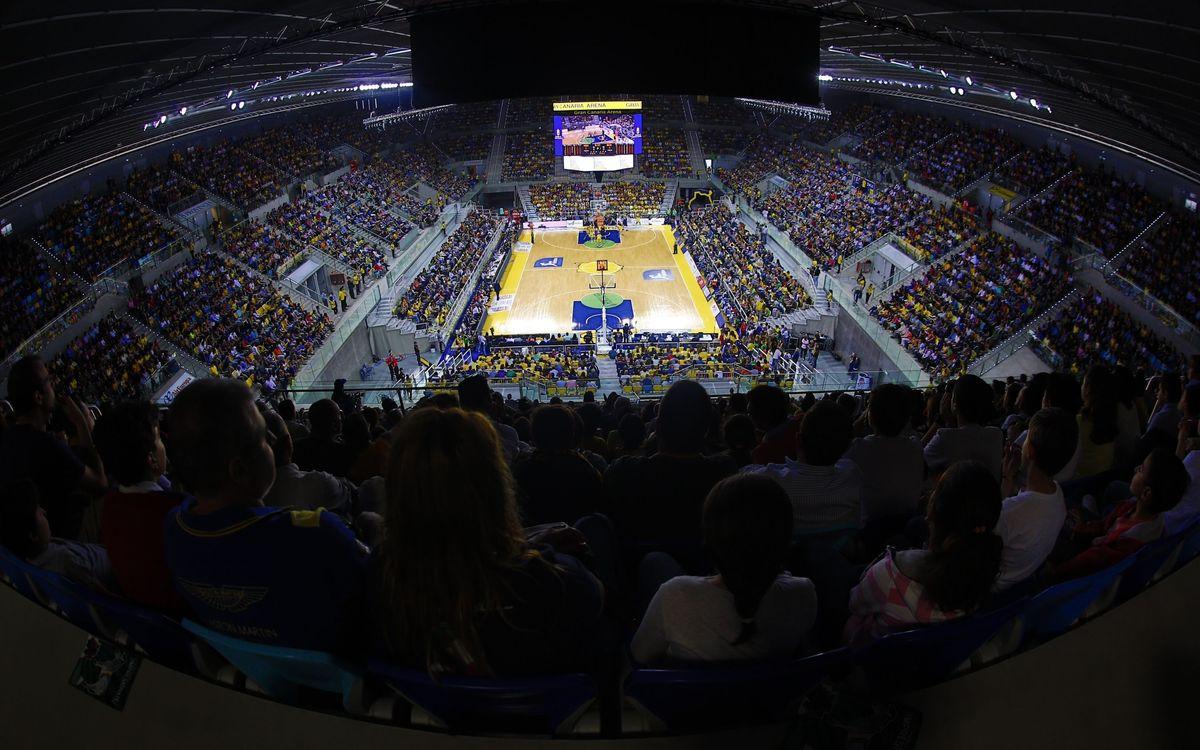 La visita al Gran Canaria Arena, des de dins