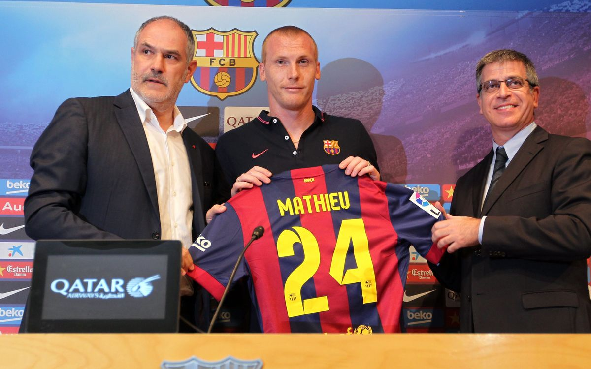 "Jérémy Mathieu: ""I have worked very hard to join FC Barcelona"""