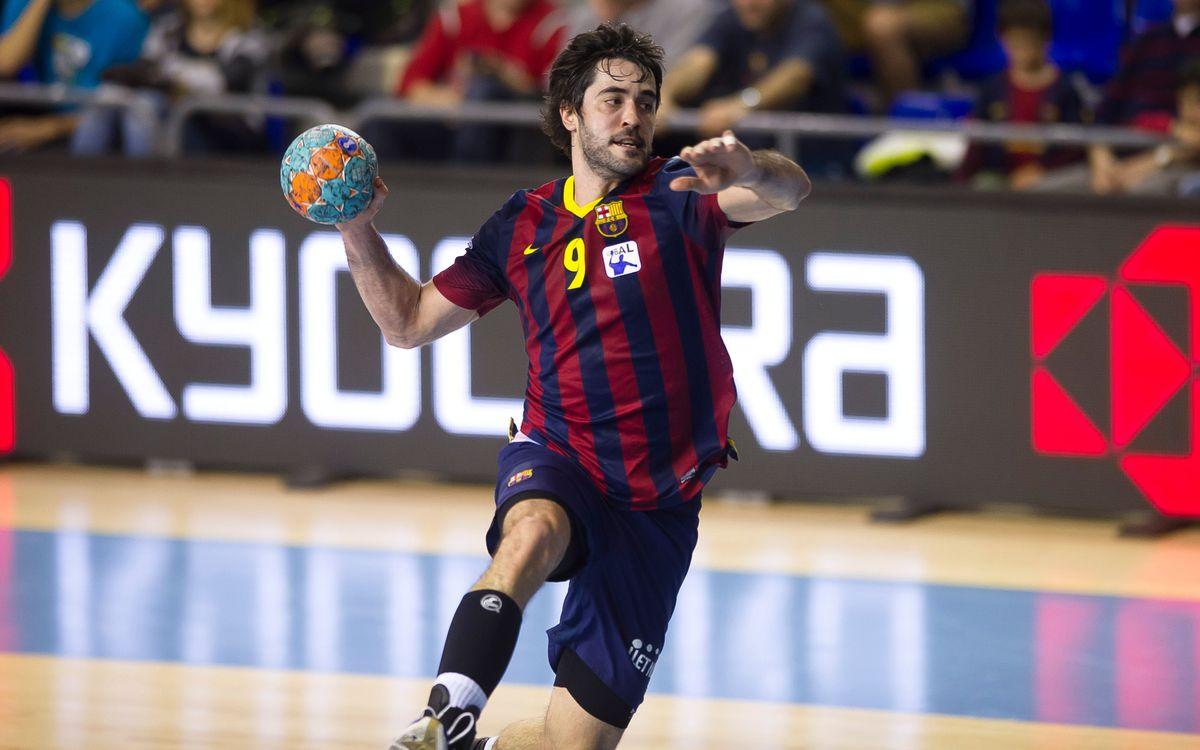 Raúl Entrerríos renueva su contrato hasta el fin de la temporada 2017/18