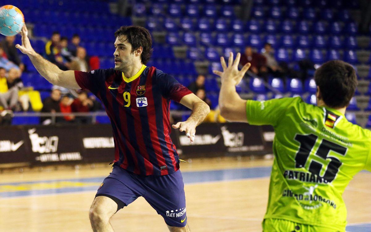 Logronyo, escenari de la darrera derrota en Lliga de l'handbol