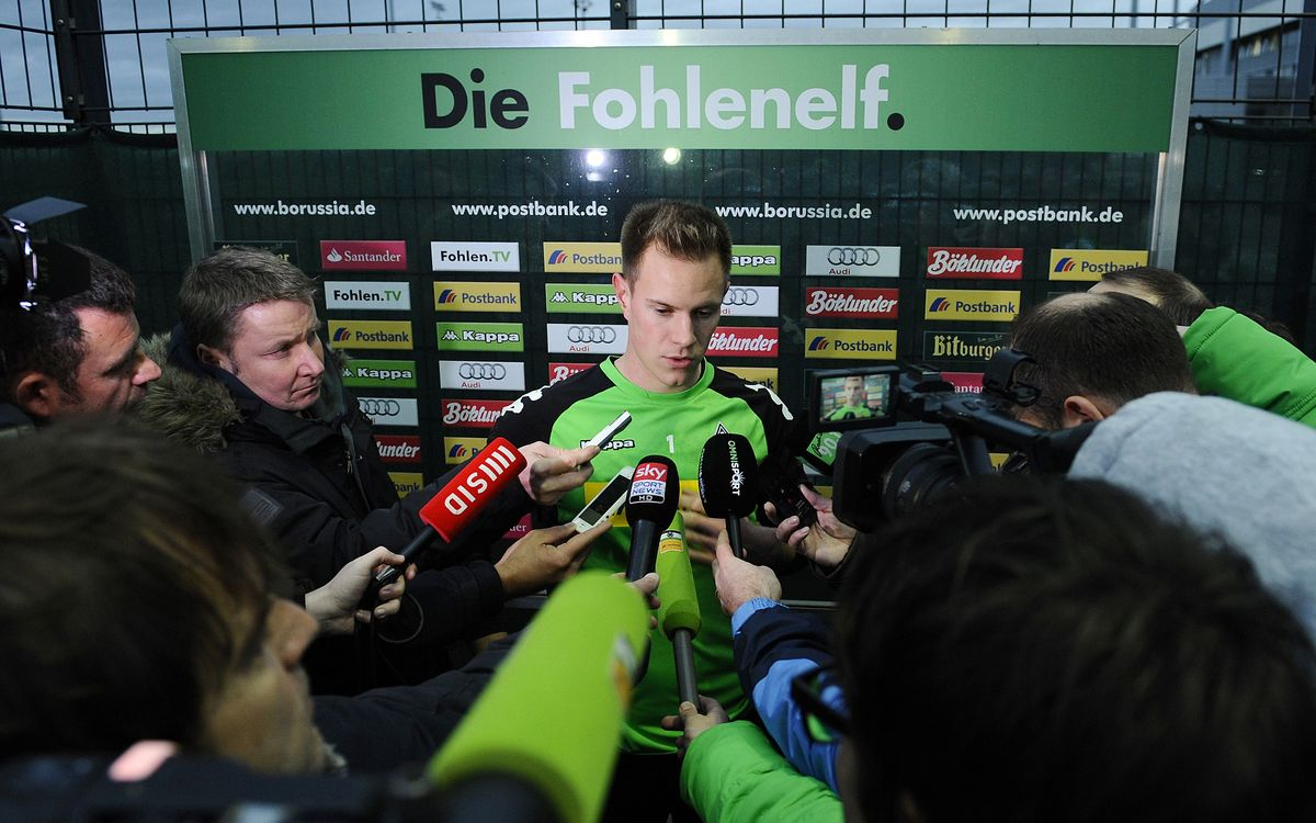 Ter Stegen to be presented as an FC Barcelona player on Thursday