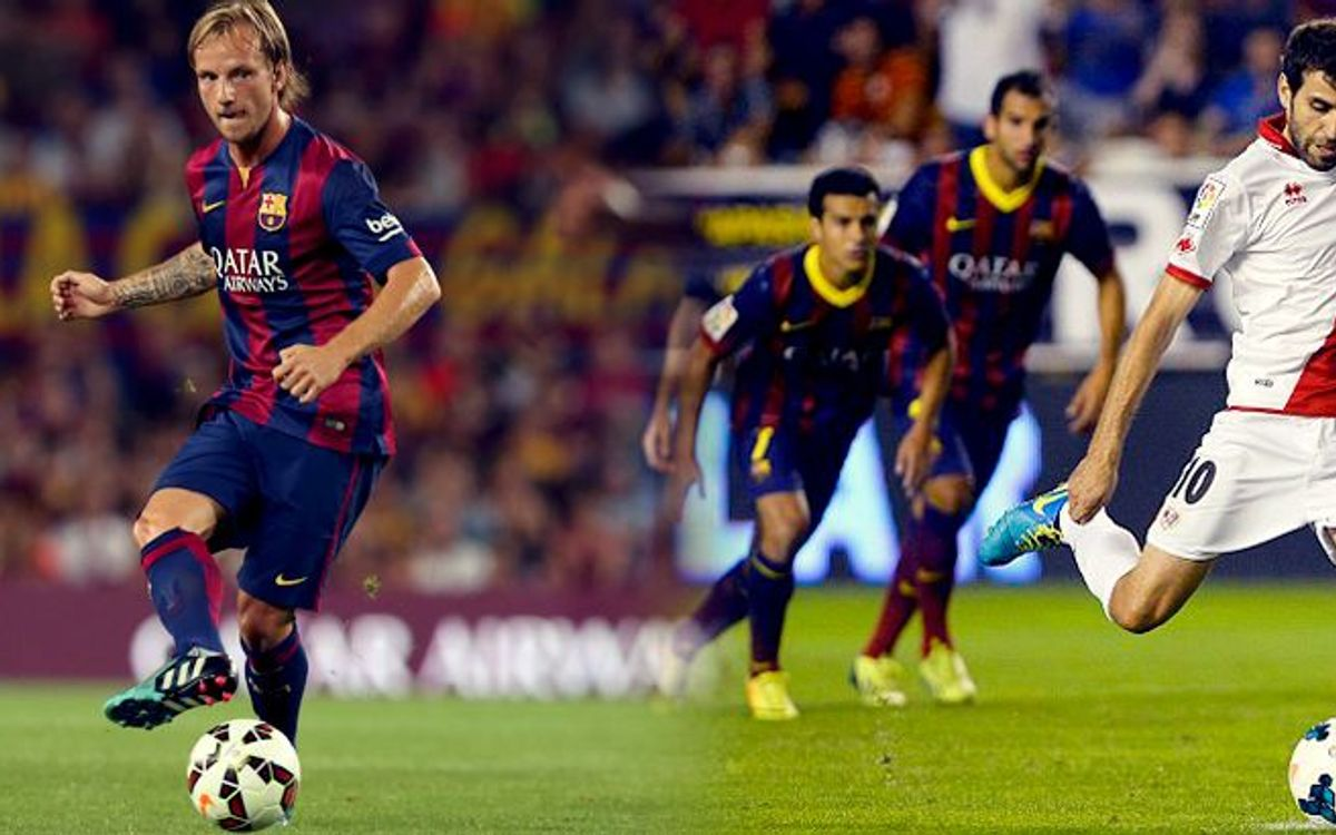 Rakitic and Trashorras lead La Liga in passing