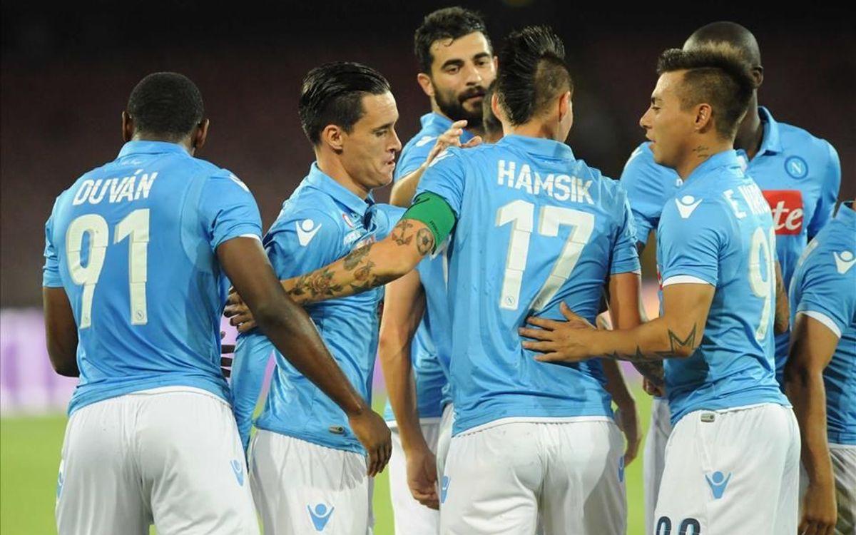 SCC Nápoles, un rival de Champions
