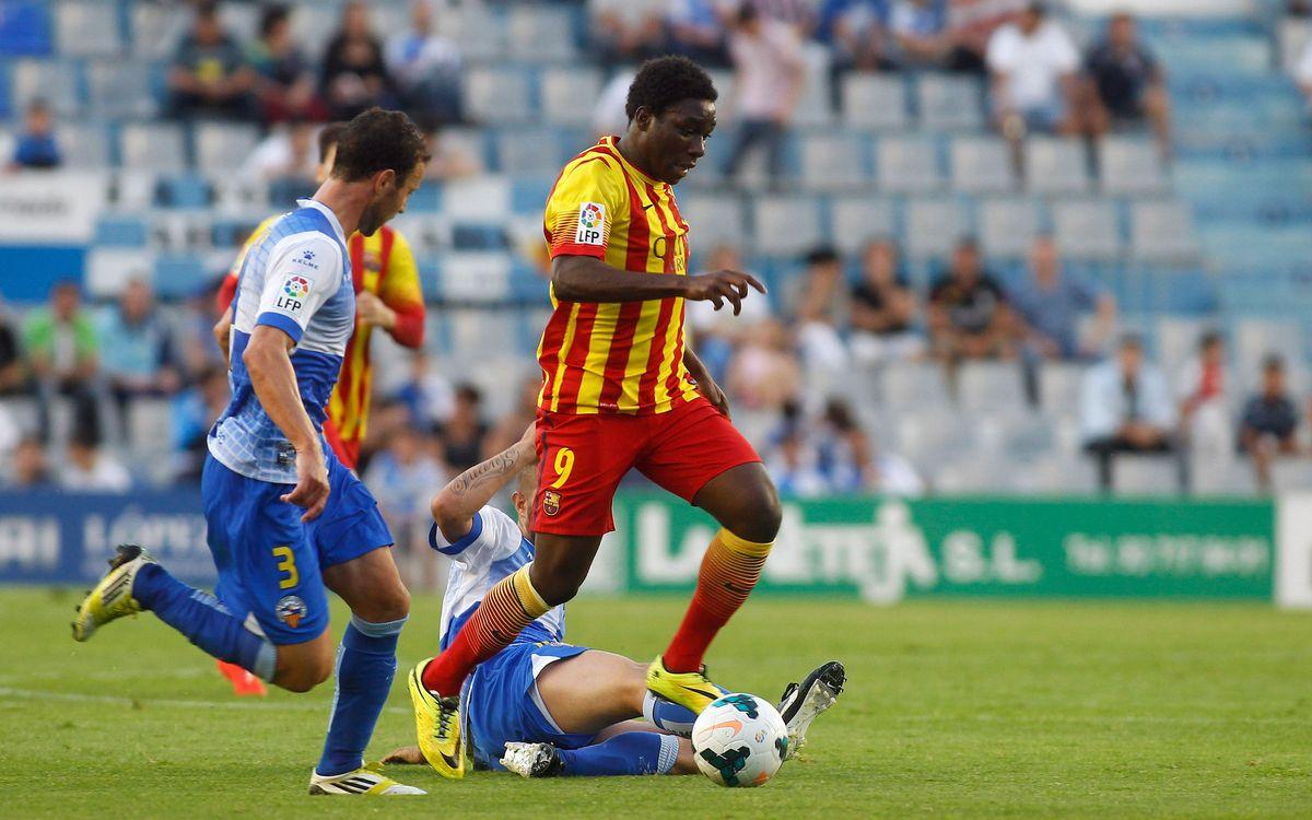 CE Sabadell-Barça B: Reacció insuficient (2-1)