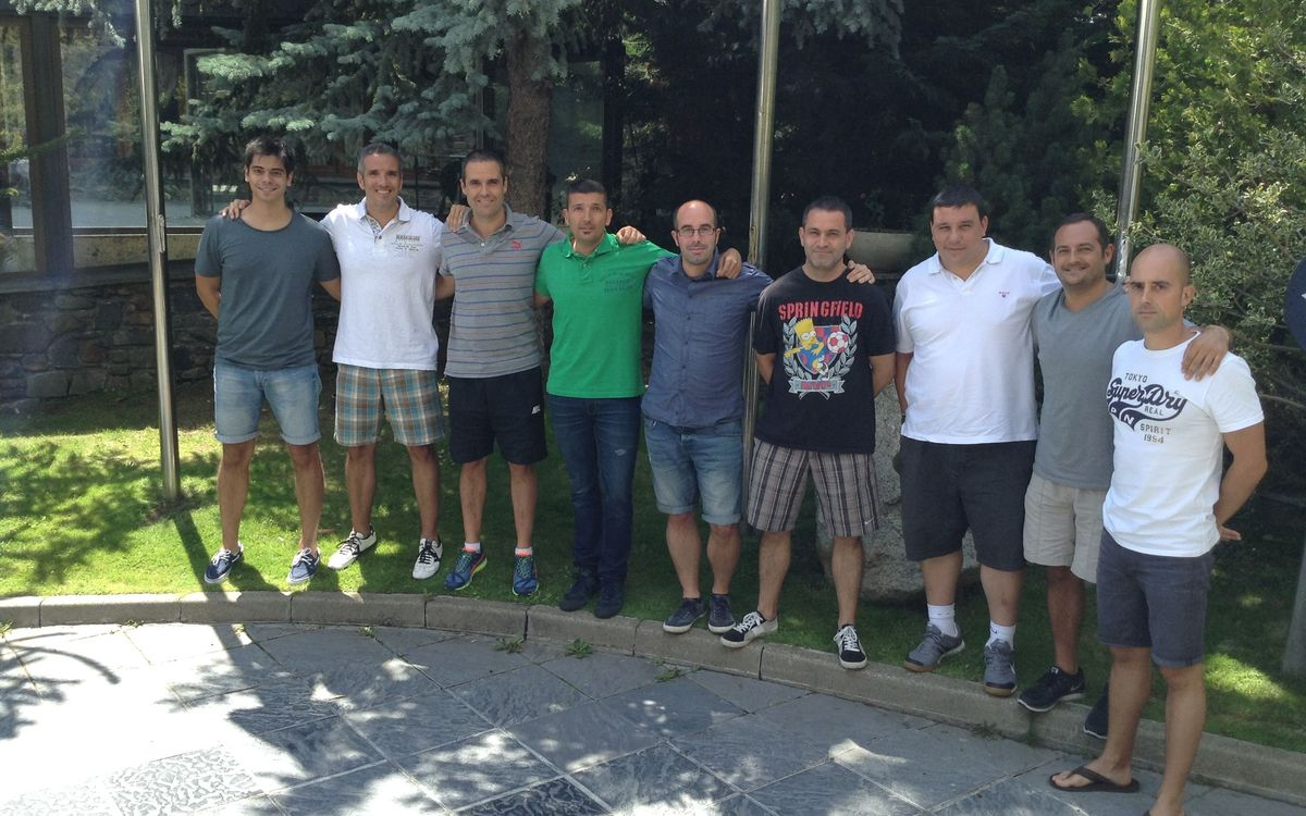 El día del balonmano formativo del Barça en Encamp