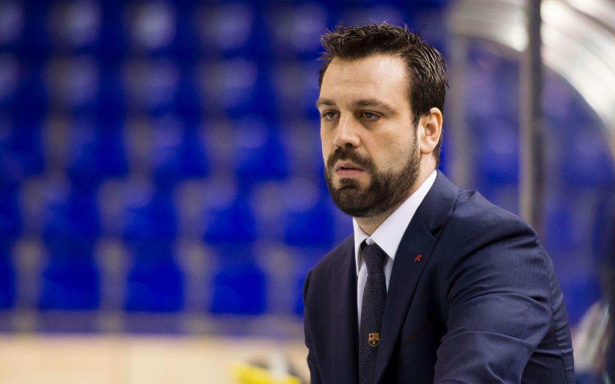 """Ricard Muñoz: """"L'equip està en disposició de recuperar-se"""""""