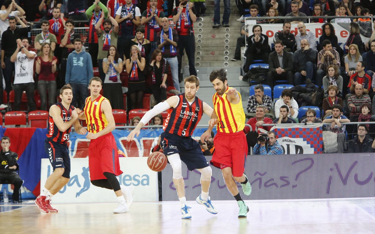 Laboral Kutxa – FC Barcelona: The Blaugrana are denied in the dying seconds (76-72)