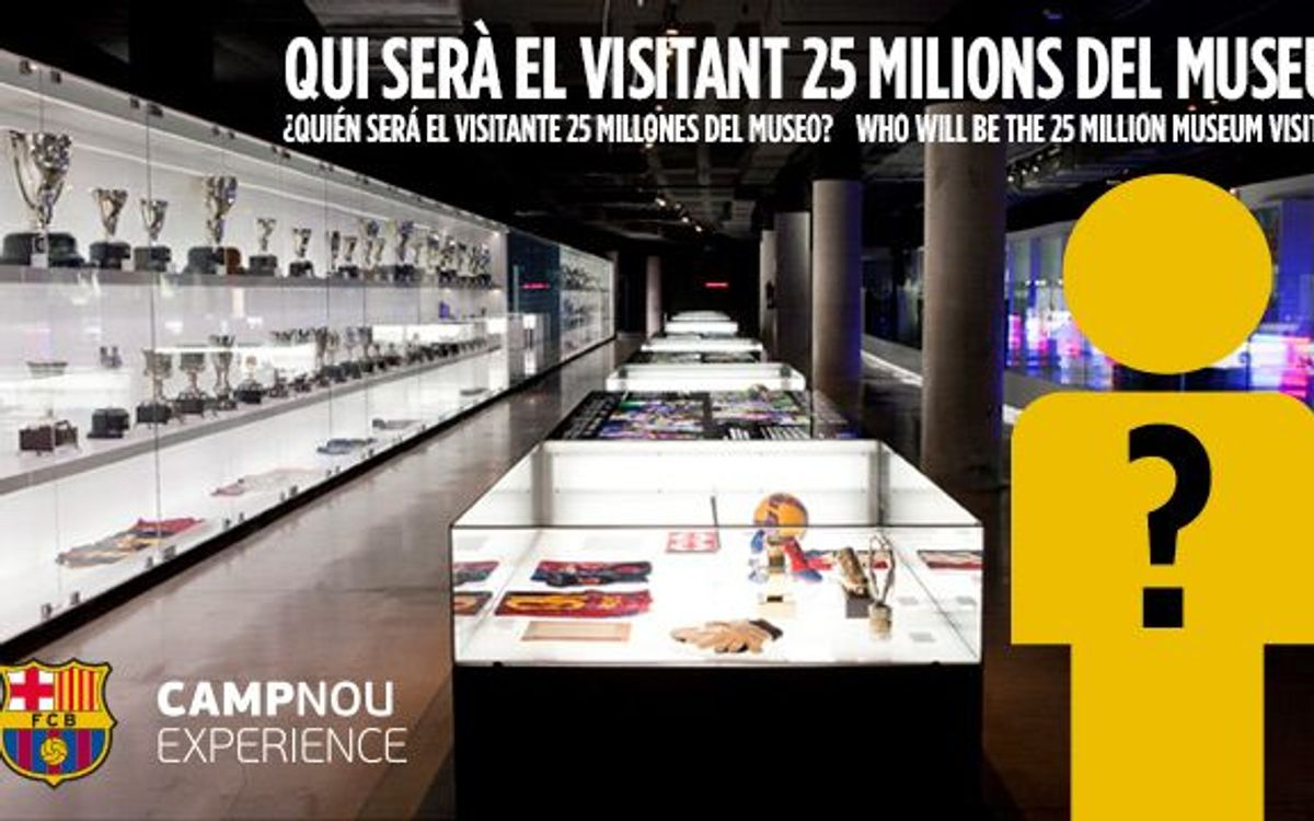 FC Barcelona Museum expects its 25 millionth visitor on Saturday