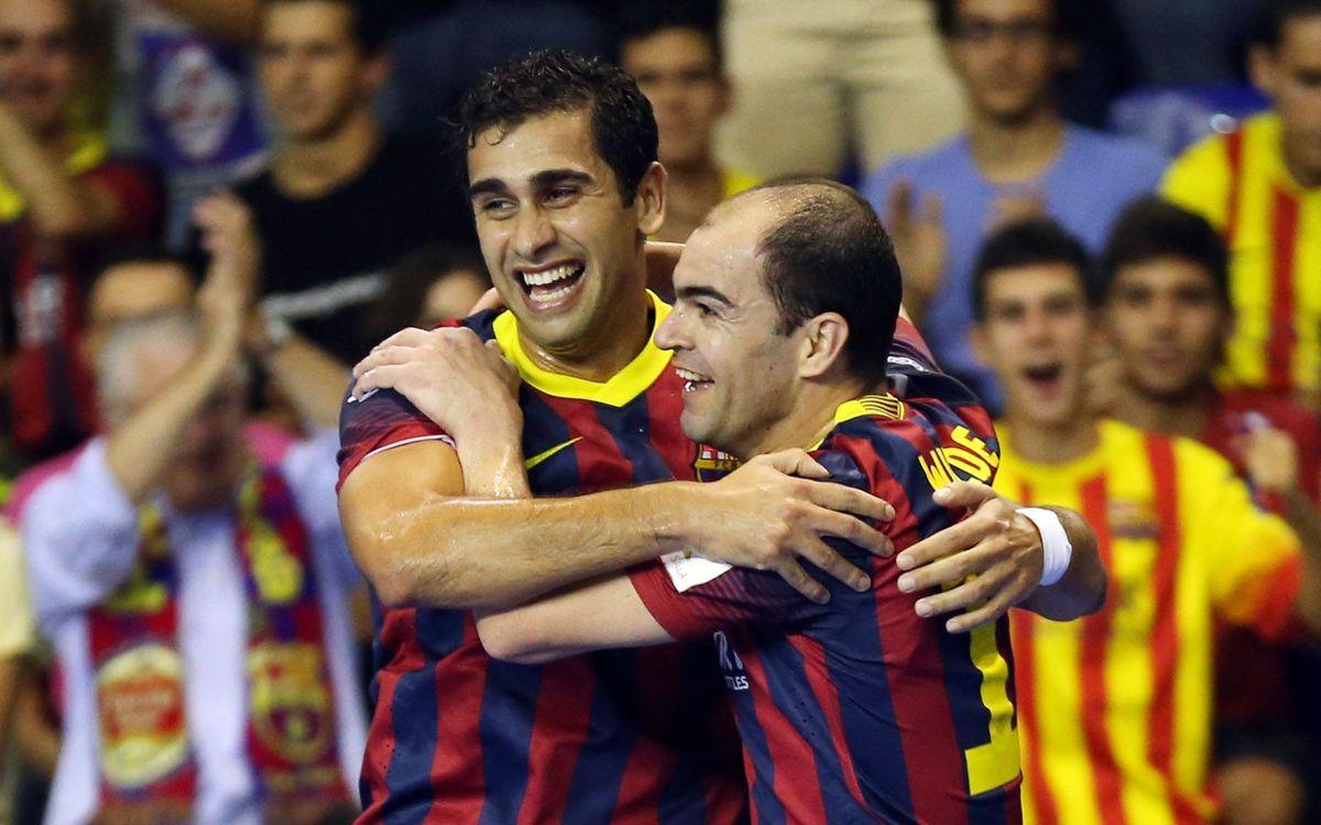 Barça Alusport v ElPozo Murcia: A costly win (2-1)