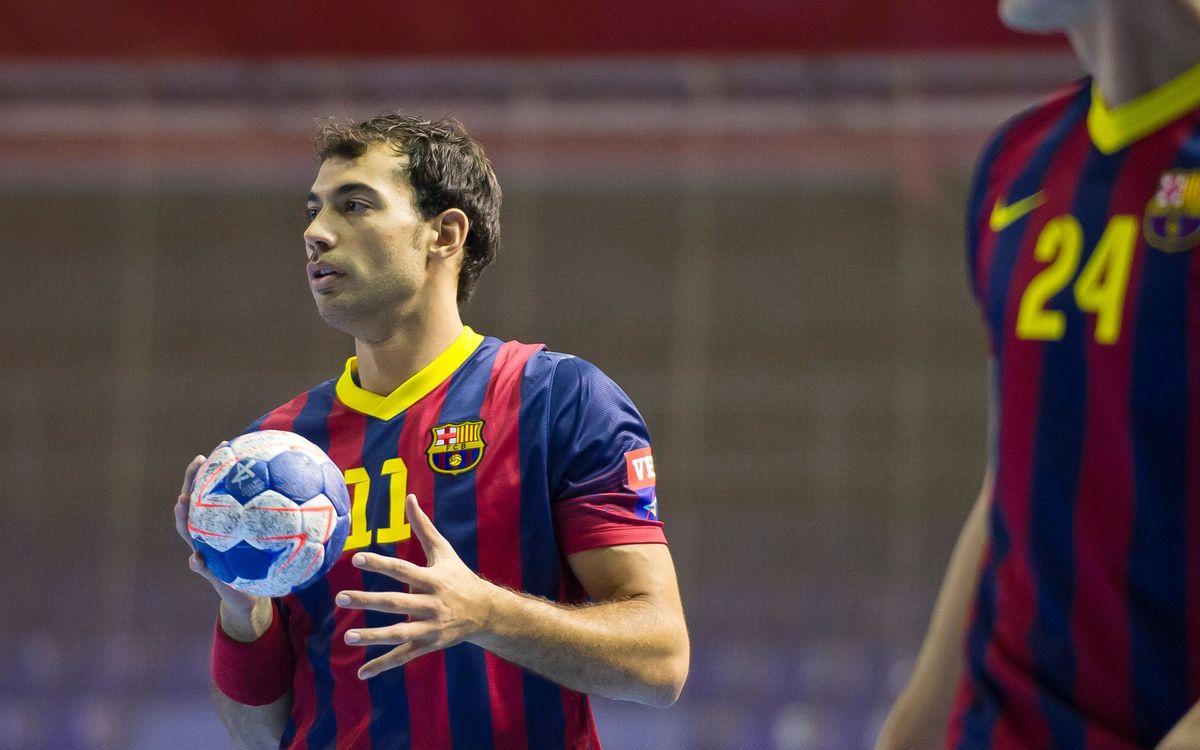 El Barça de balonmano a un paso de los cuartos de final de la Champions