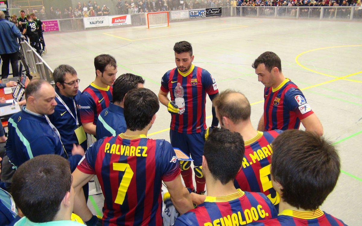 SKG Herringen – FC Barcelona: Provisional leaders (4-10)