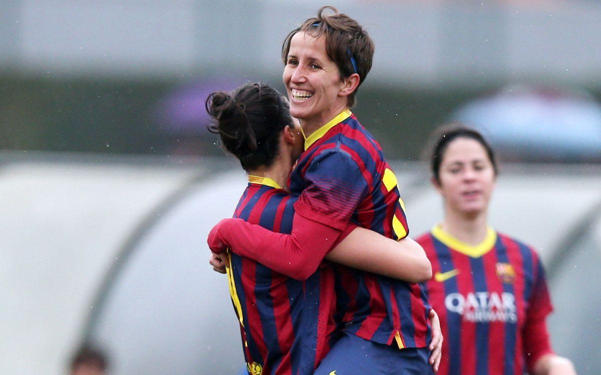Sonia Bermúdez scores a goal a la Leo Messi