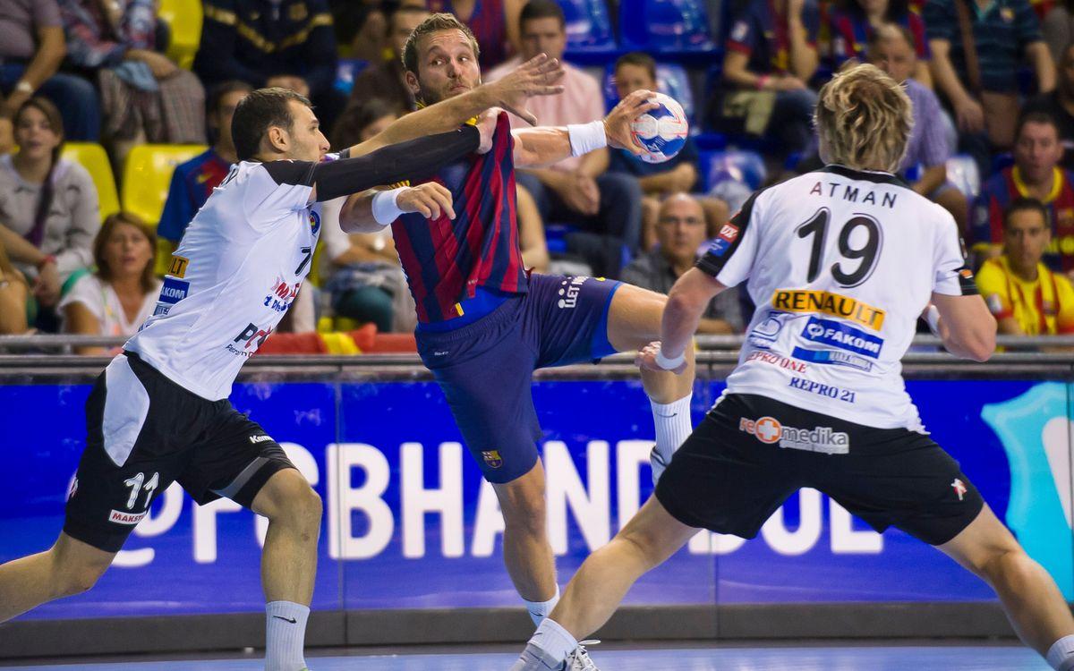 Metalurg Skopje - FC Barcelona: Derrota intranscendent a Macedònia (31-29)