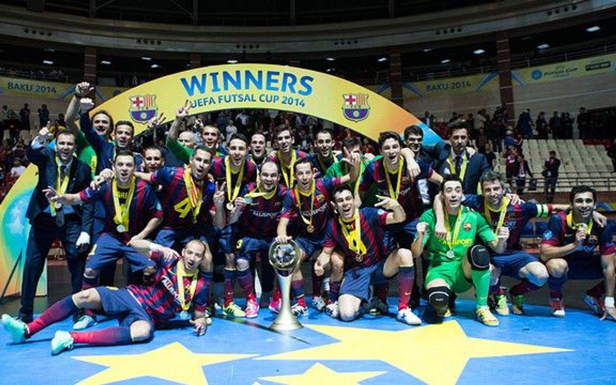 Deuxième UEFA Futsal Cup pour le Barça
