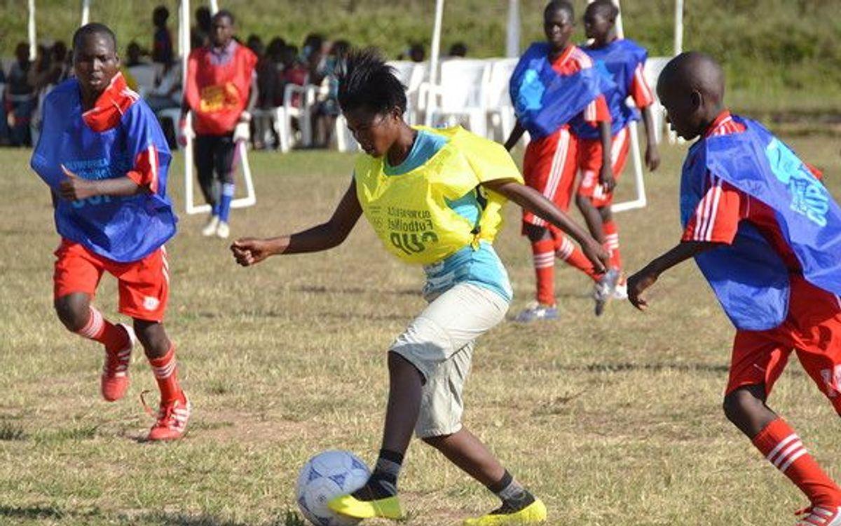 Début d'Olympafrica FutbolNet Cup