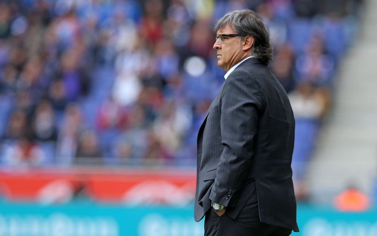 "Martino: ""We expected a game like this"""
