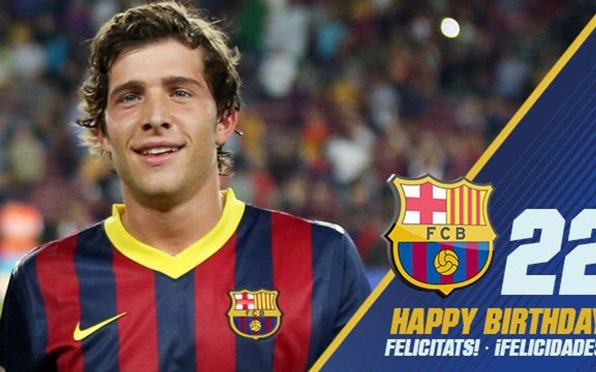 Happy birthday, Sergi Roberto!