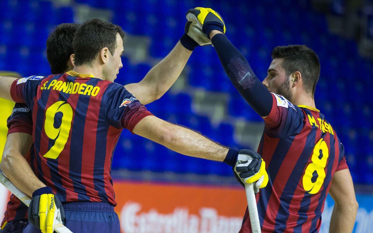 FC Barcelona - Muralla Òptica Blanes: La qualitat decanta el partit (5-1)