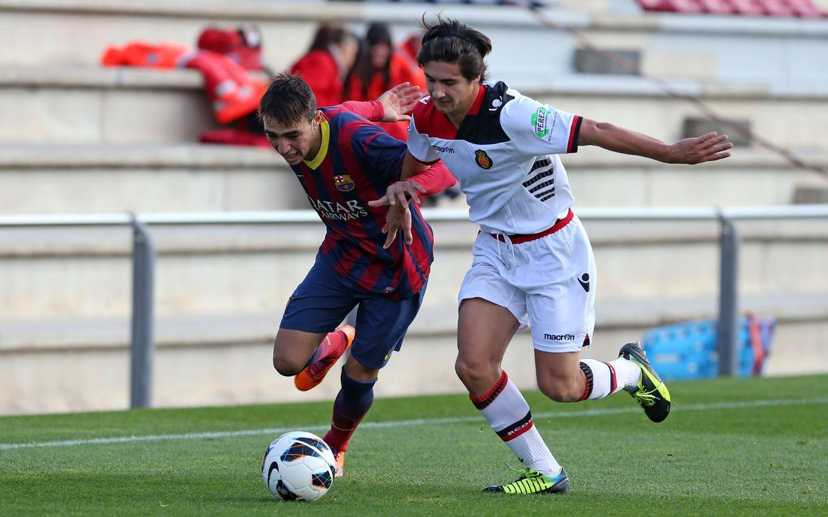 RCD Mallorca - Juvenil A: Se ajusta el liderato (1-0)
