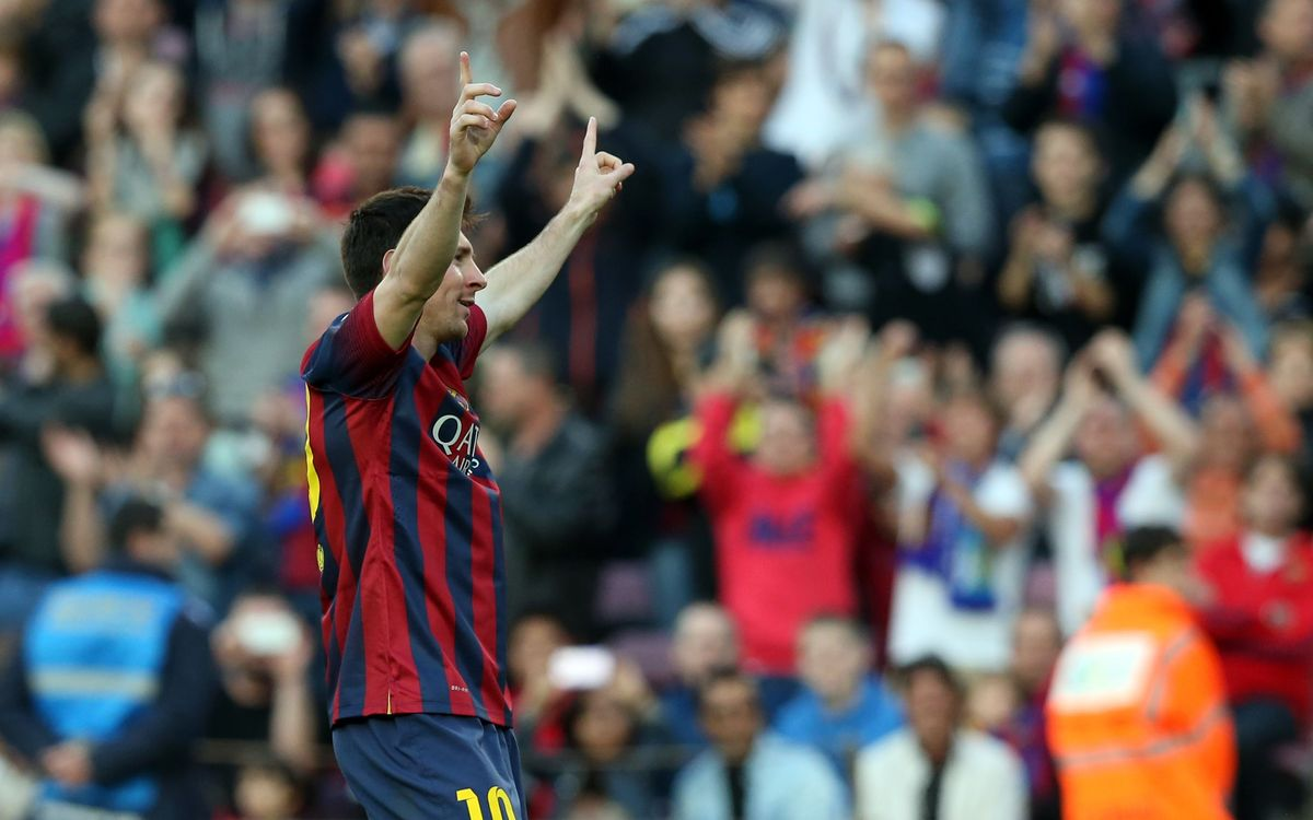 Messi hits top form in time for Santiago Bernabéu