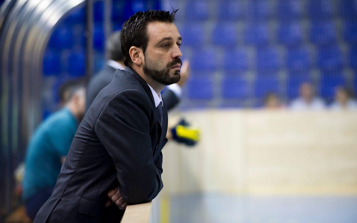 """Ricard Muñoz: """"El primer objectiu és certificar els quarts de final"""""""