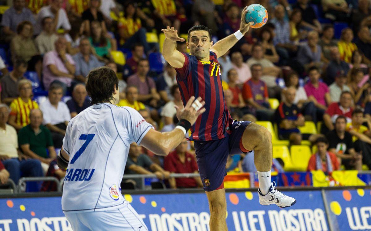 Continua el dens mes de febrer per al Barça d'handbol