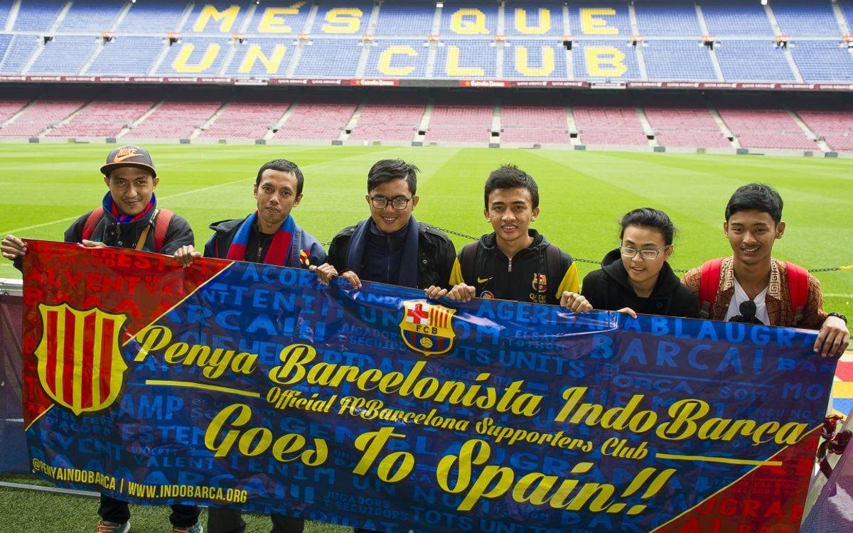 Penya Barcelonista Indobarça Jakarta Visits Barcelona