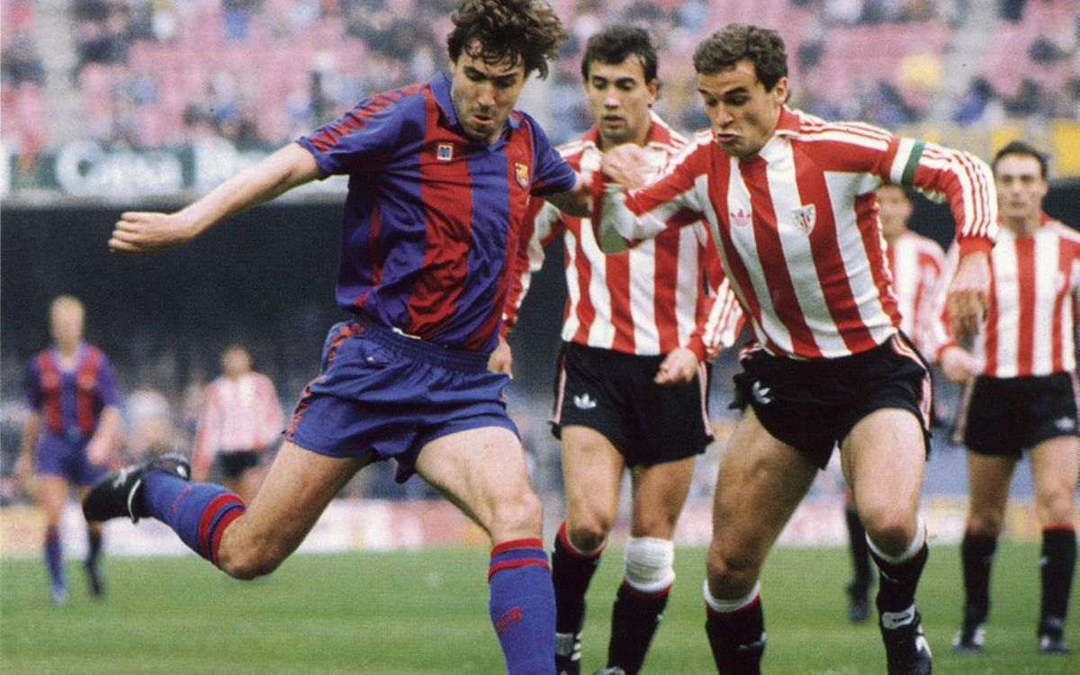 Remembering Julio Salinas at FC Barcelona