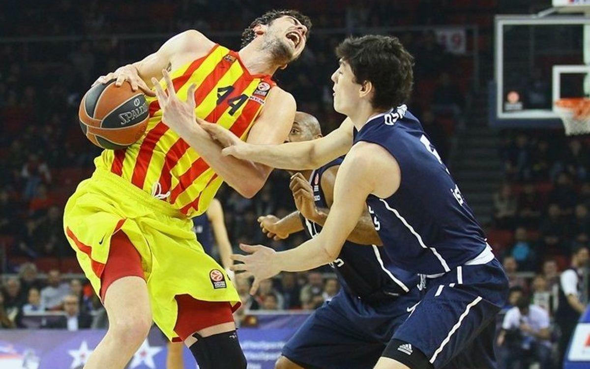 Anadolu Efes - FC Barcelona: Atac de cor i vuitena victòria (84-89)