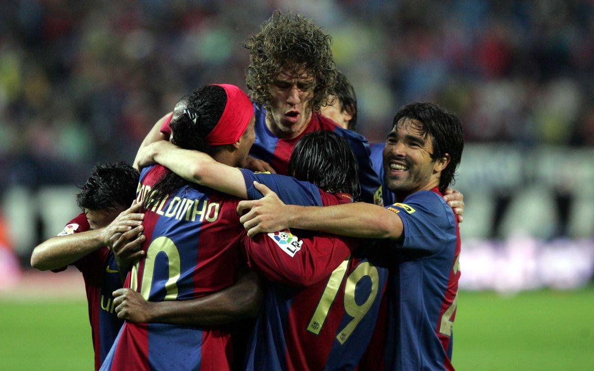 10 great Barça goals at the Vicente Calderón