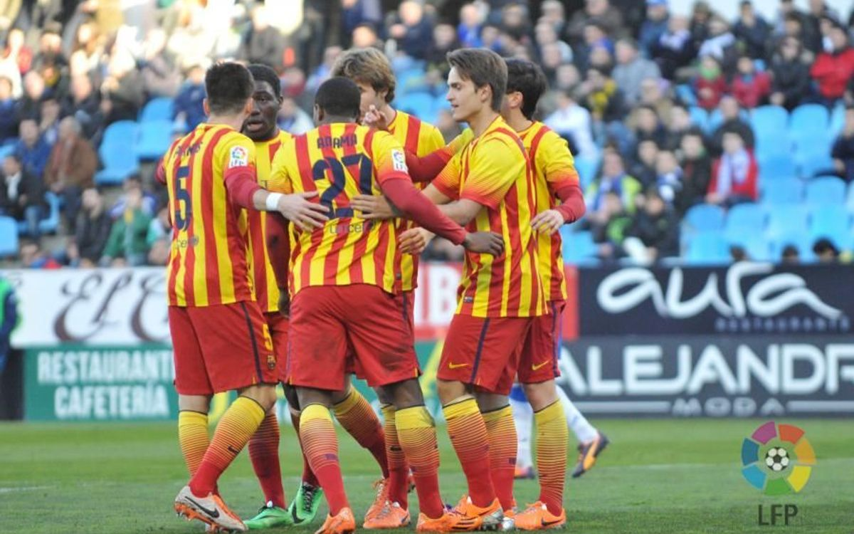 Real Zaragoza – Barça B: Show of force at La Romareda (0-2)