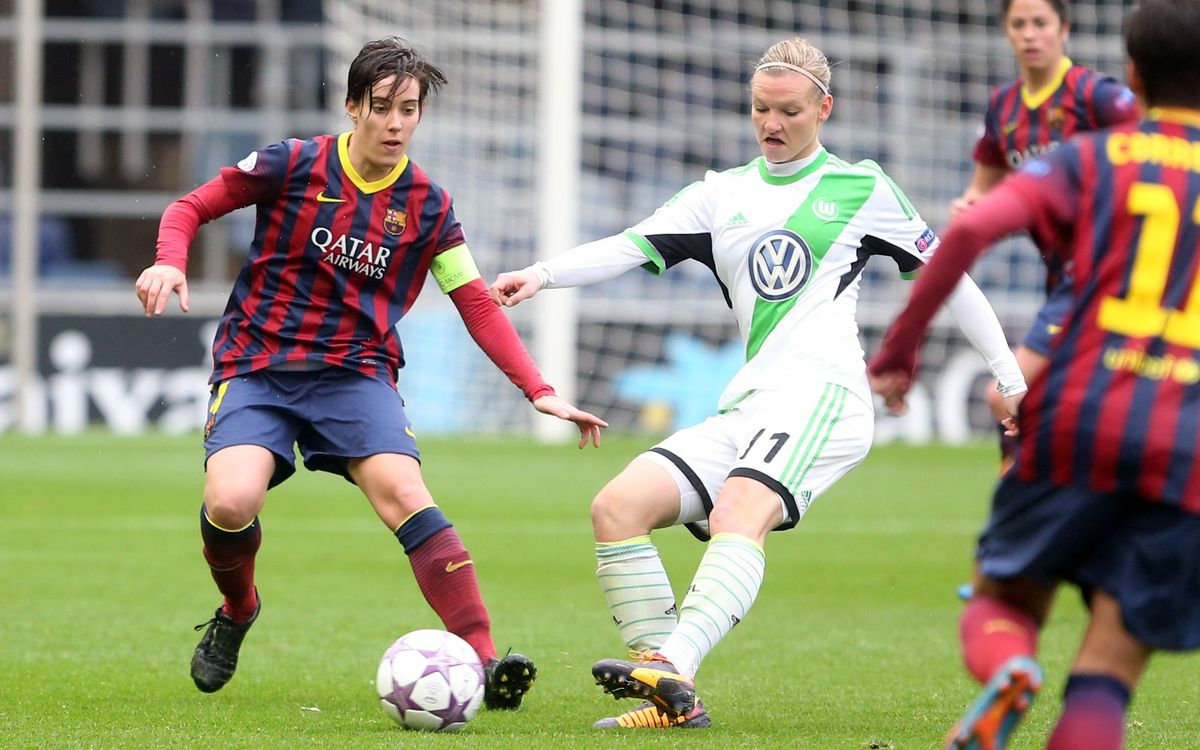 Women A – Wolfsburg: A true champions' effort (0-2)