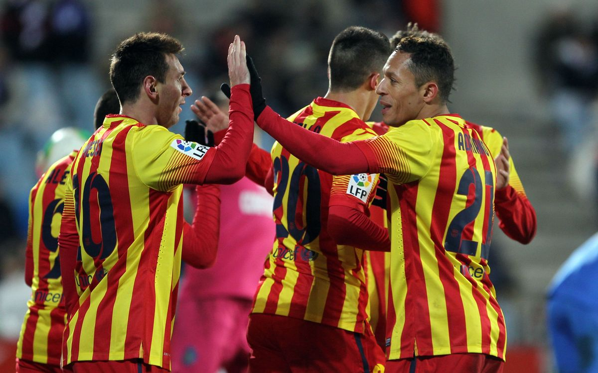 Getafe CF - FC Barcelona: Through to the quarter-finals (0-2)