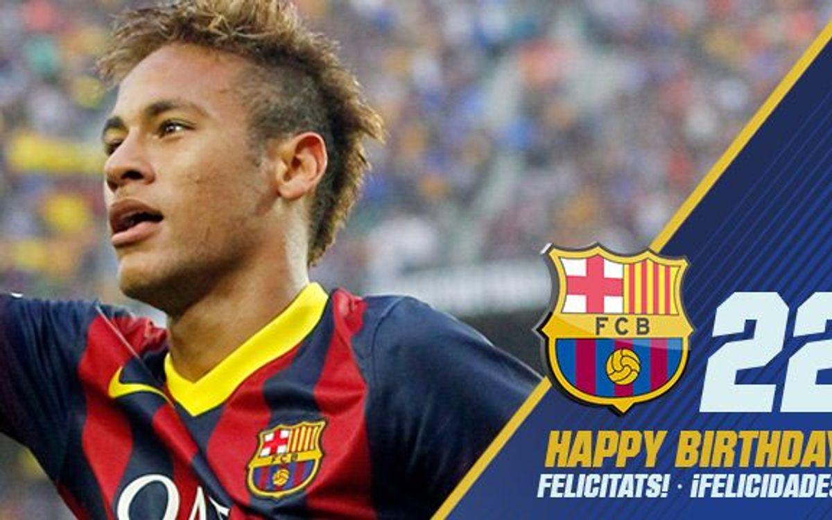Happy birthday, Neymar!