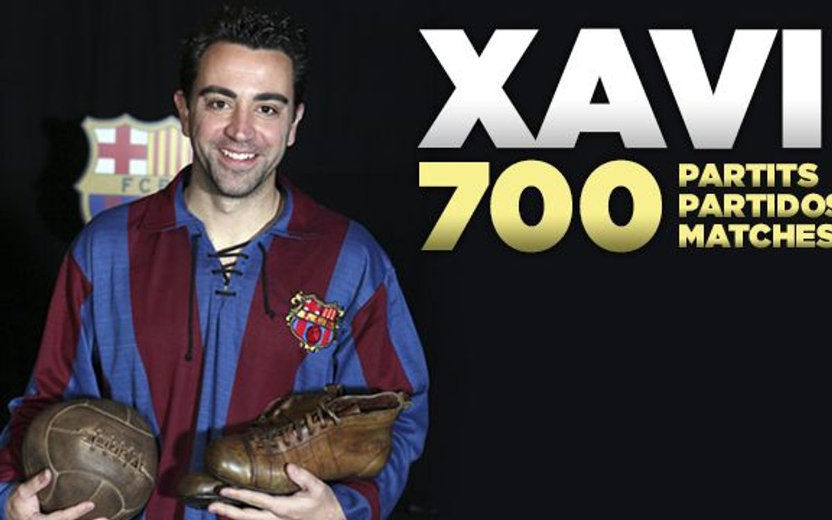 Xavi praised by FC Barcelona colleagues