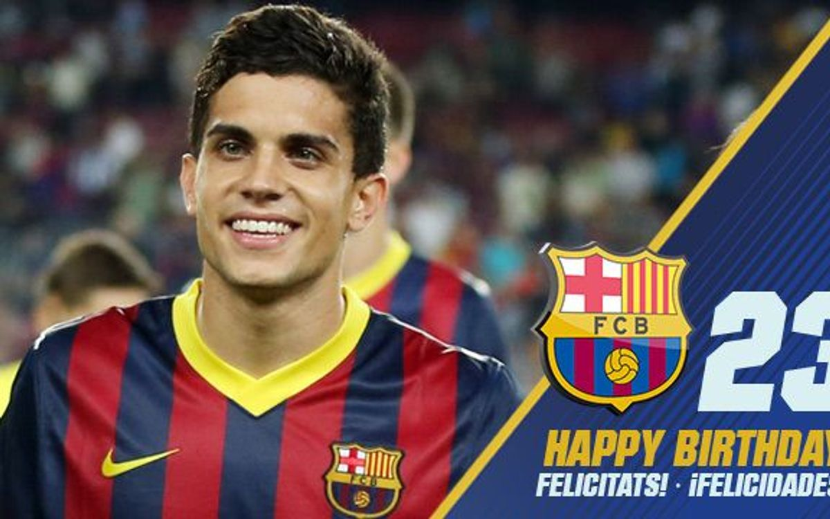 Marc Bartra is 23 today!