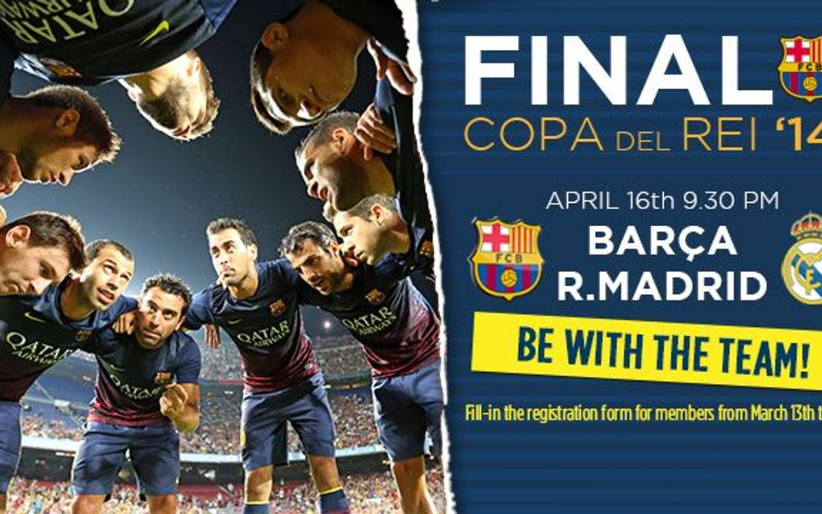 Applications for Cup Final tickets from March 13