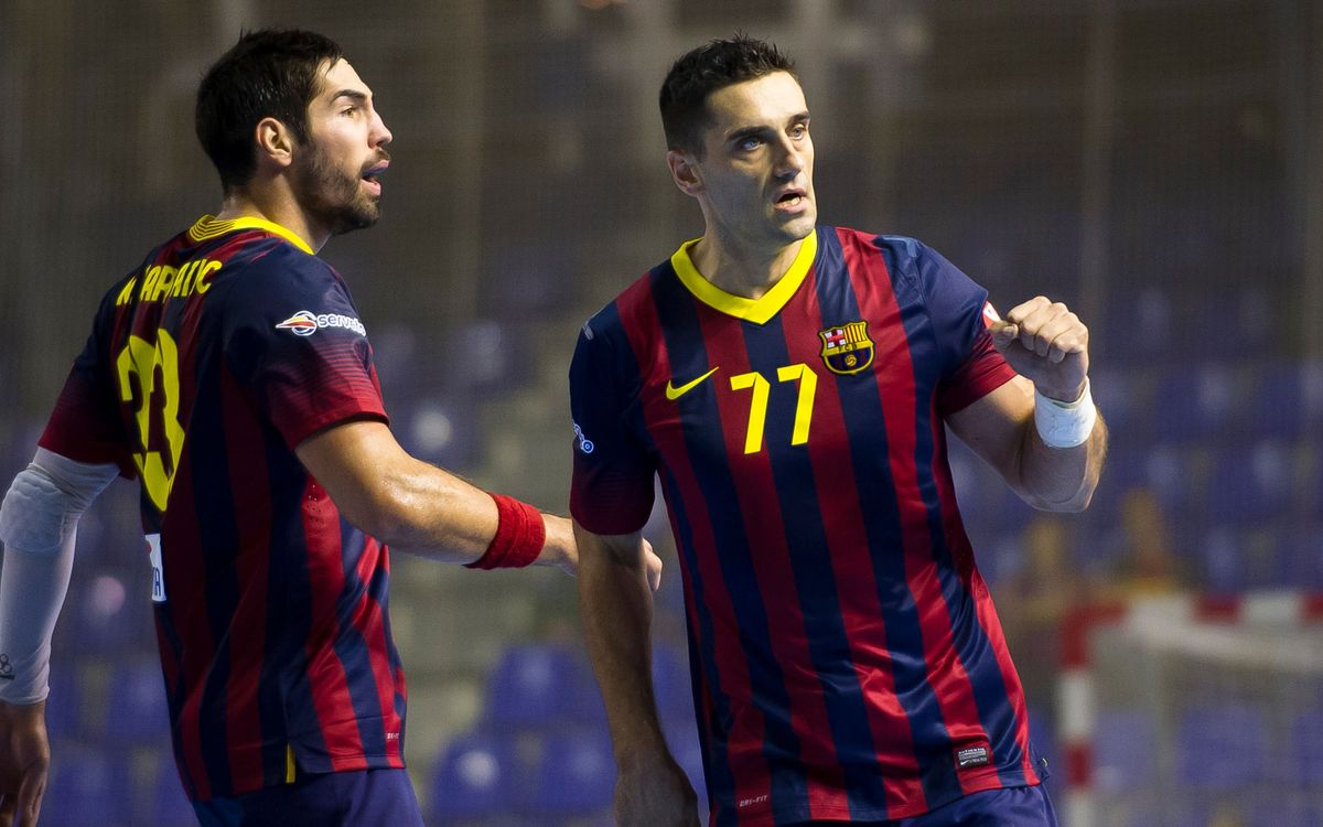 Wacker Thun – FC Barcelona: Top spot virtually secured (23-39)