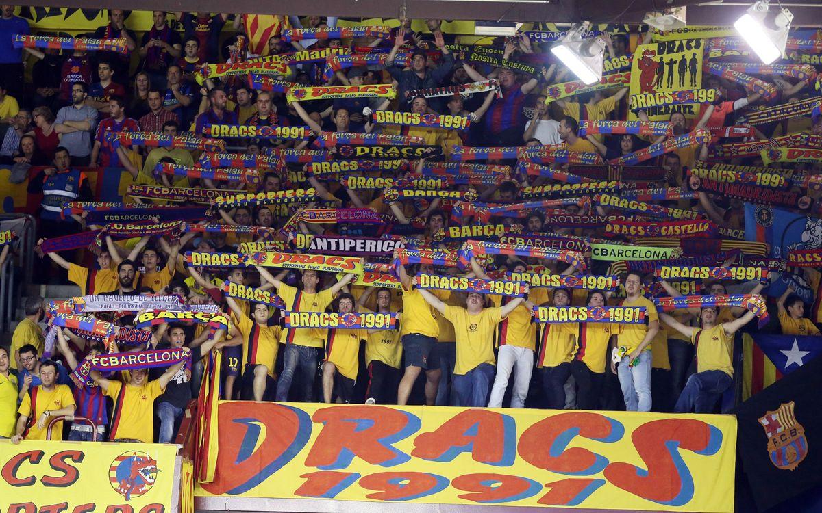 FC Barcelona–PSG Handball: entrades de visibilitat reduïda a la venda