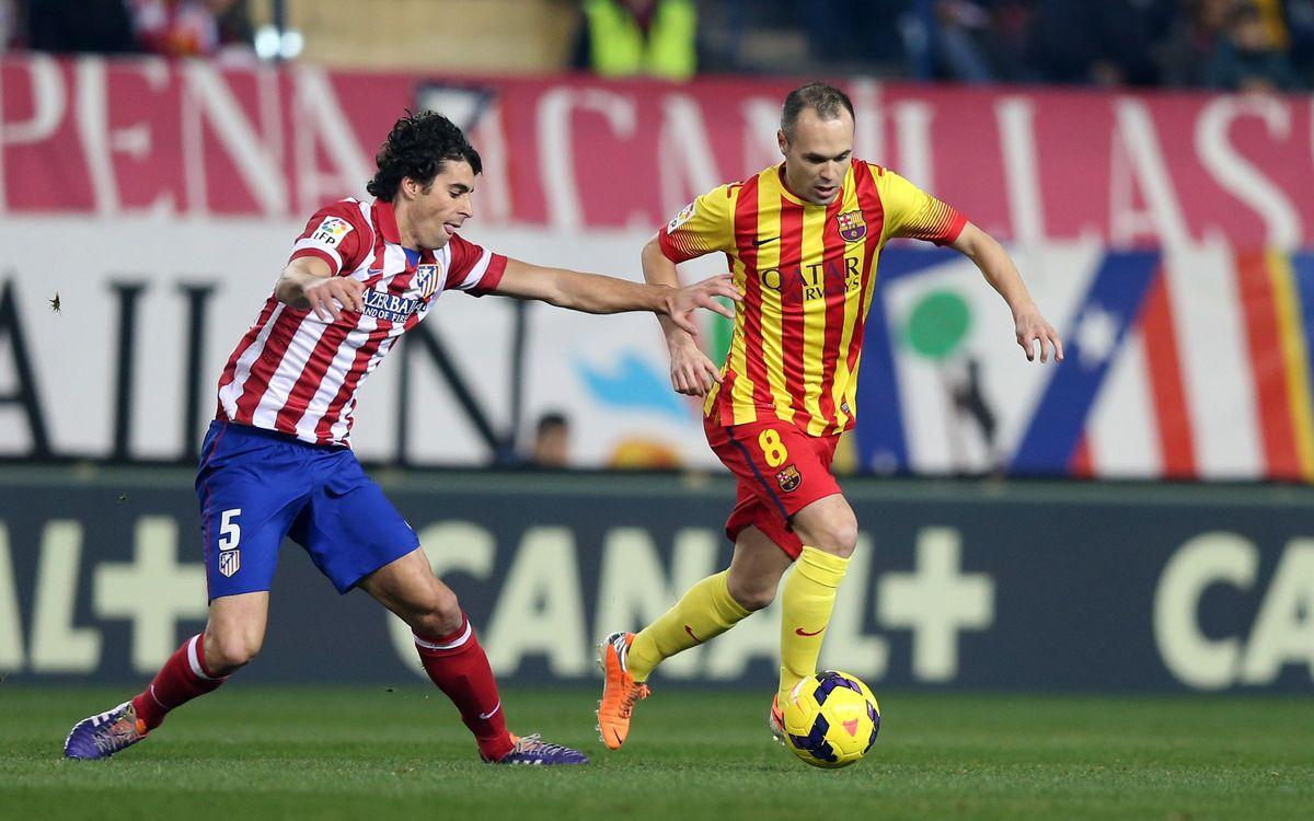 Andrés Iniesta substituït per precaució