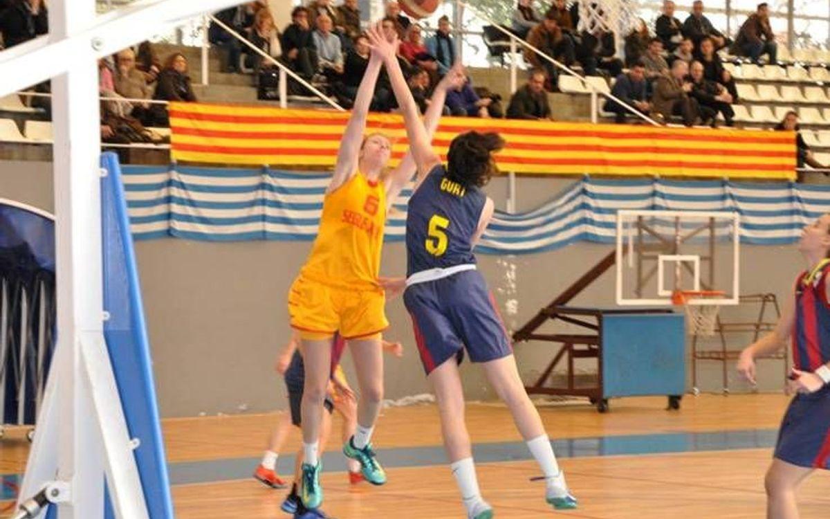 Les lesions marquen el derbi del bàsquet femení (46-74)