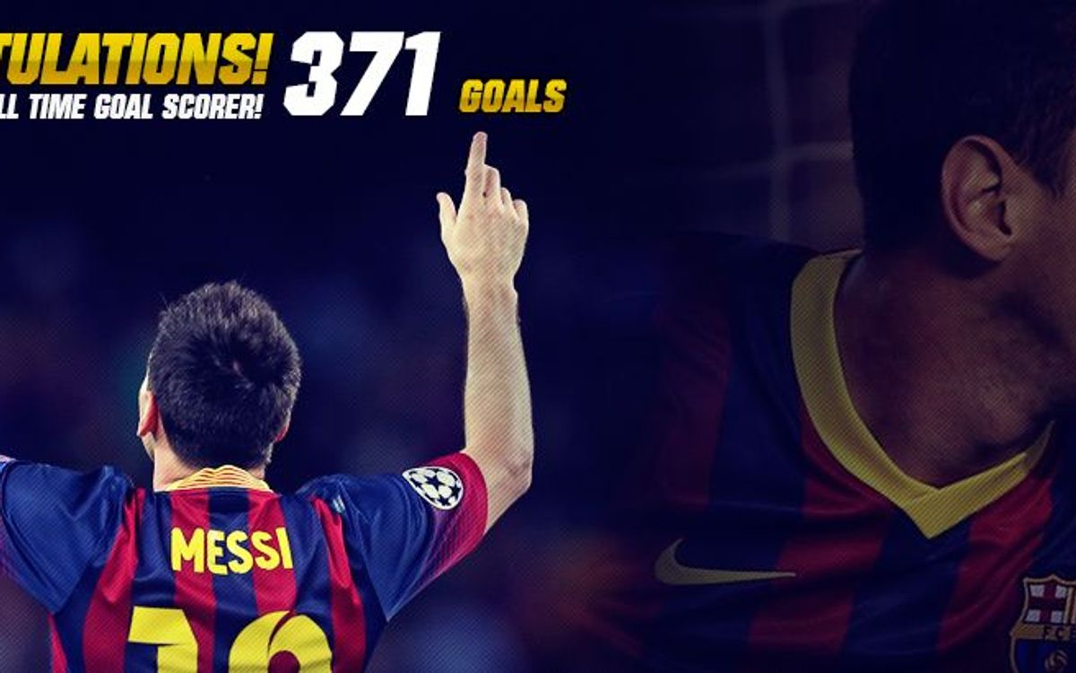 Leo Messi surpasses Paulino Alcántara and becomes FC Barcelona all-time top scorer