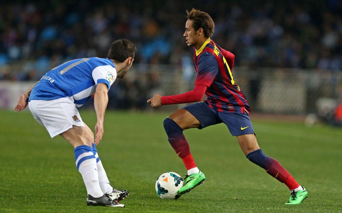 Els tocs delicats de Neymar