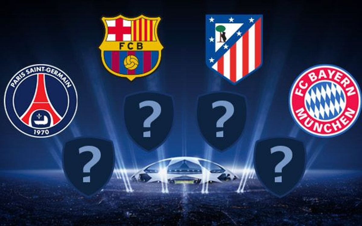 Seven consecutive years in the Champions League quarter-finals